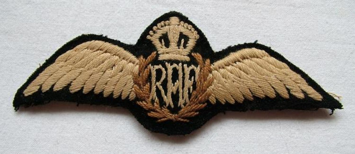 R.A.F. Tropical Issue Pilot Wing