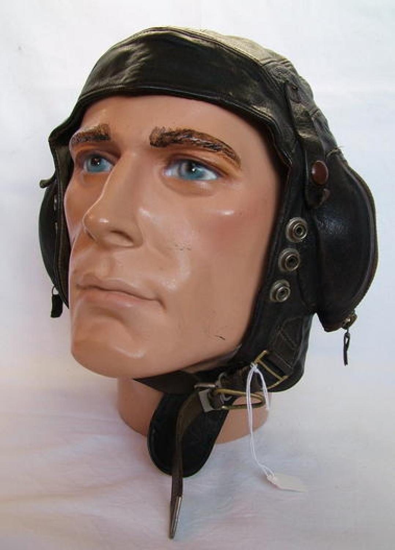 FAA / RAF C-type Flying Helmet, Early Patt.