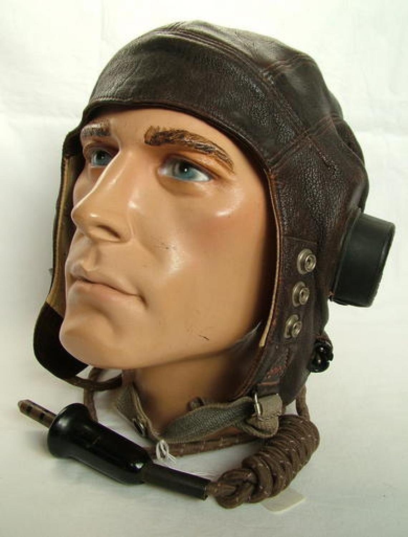 R.A.F. C-type Flying Helmet, Late Patt.