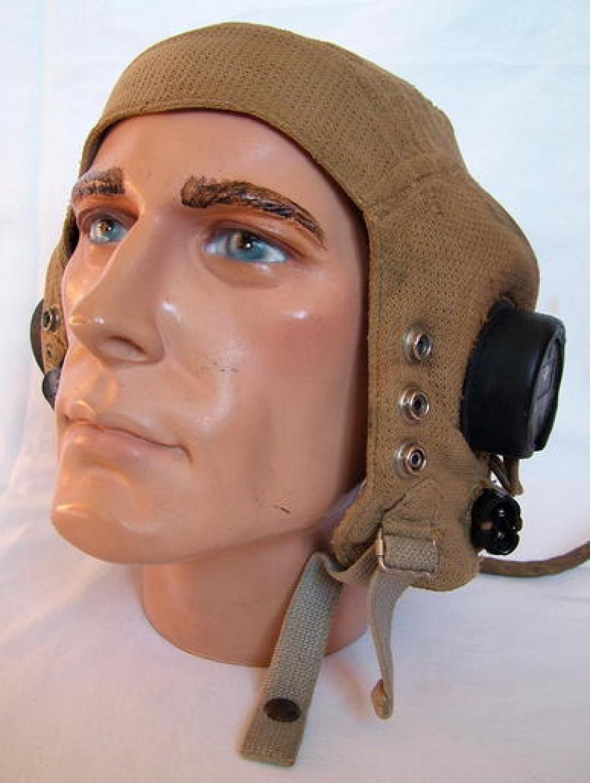 RAF E-type Flying Helmet, Late Patt. History