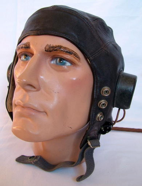 RAF C-type Flying Helmet, 1st Late Patt.