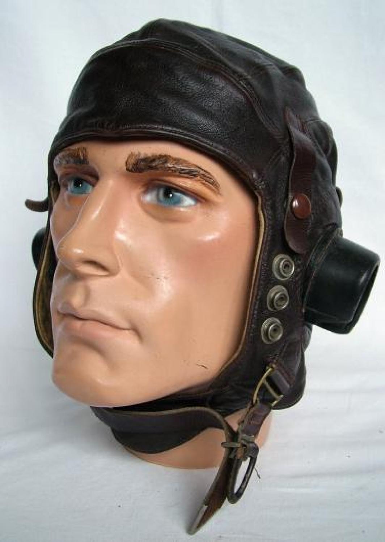 R.A.F. C-type Flying Helmet, Early Pattern