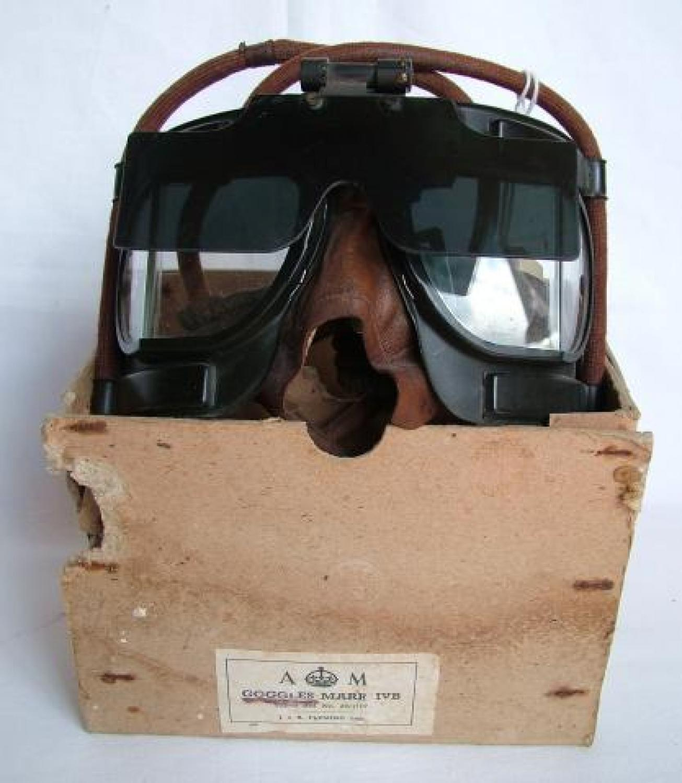 RAF MK.IVB Flying Goggles, Flipshield, Boxed