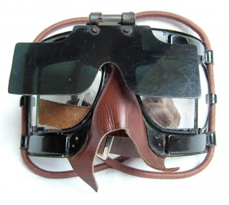 RAF MK.IV Flying Goggles c/w Flipshield