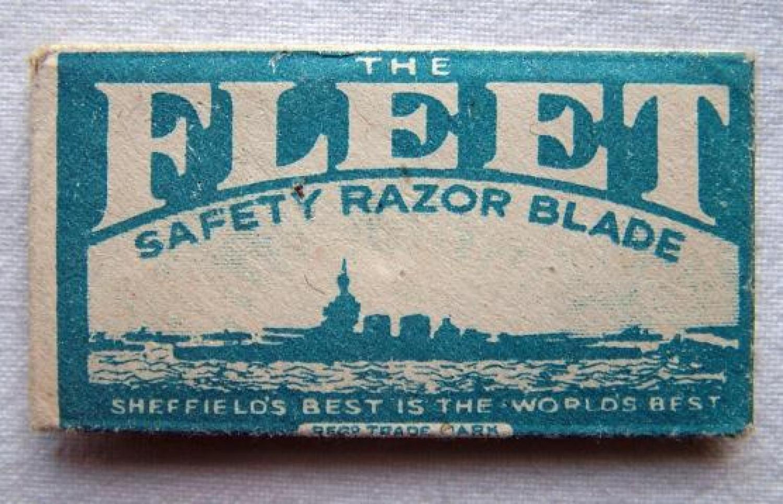 R.A.F. / S.O.E. Razor Blade Compass