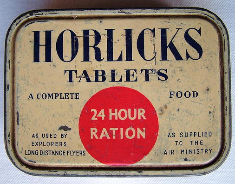 Horlicks Tablets Ration Tin