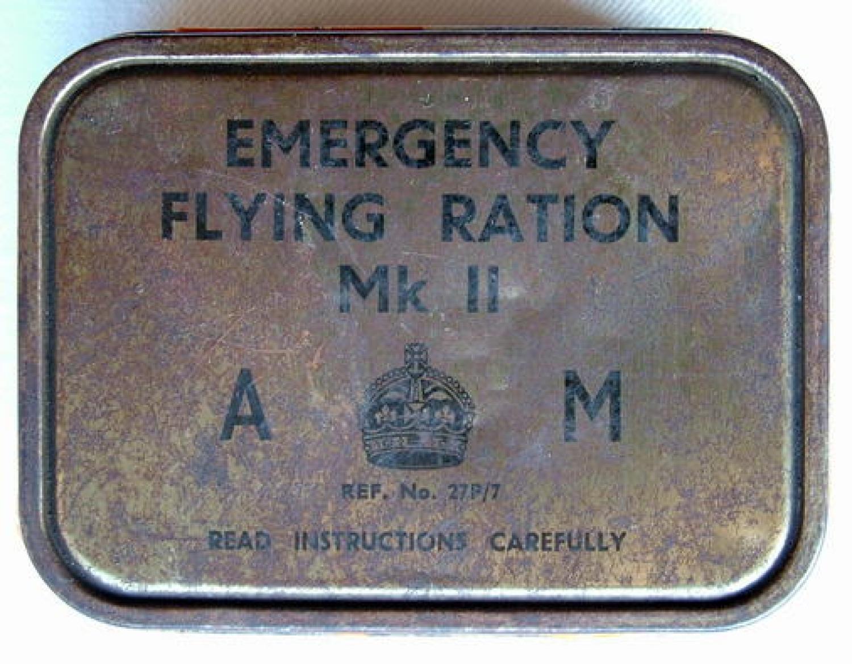Air Ministry Emergency Flying Ration, MK.II