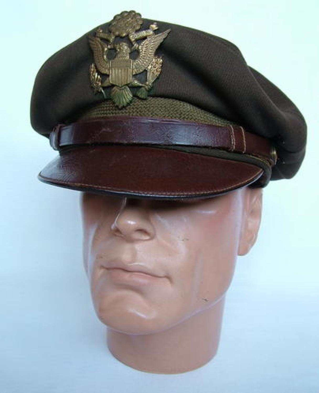 U.S.A.A.F. Officers' Visor Cap