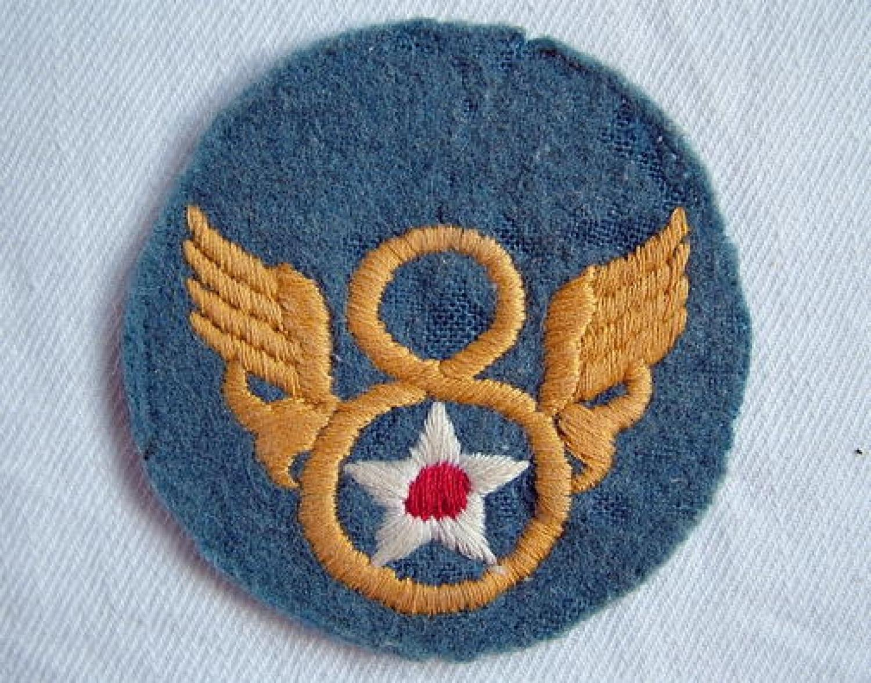 U.S.A.A.F. 8th AAF English Made Patch
