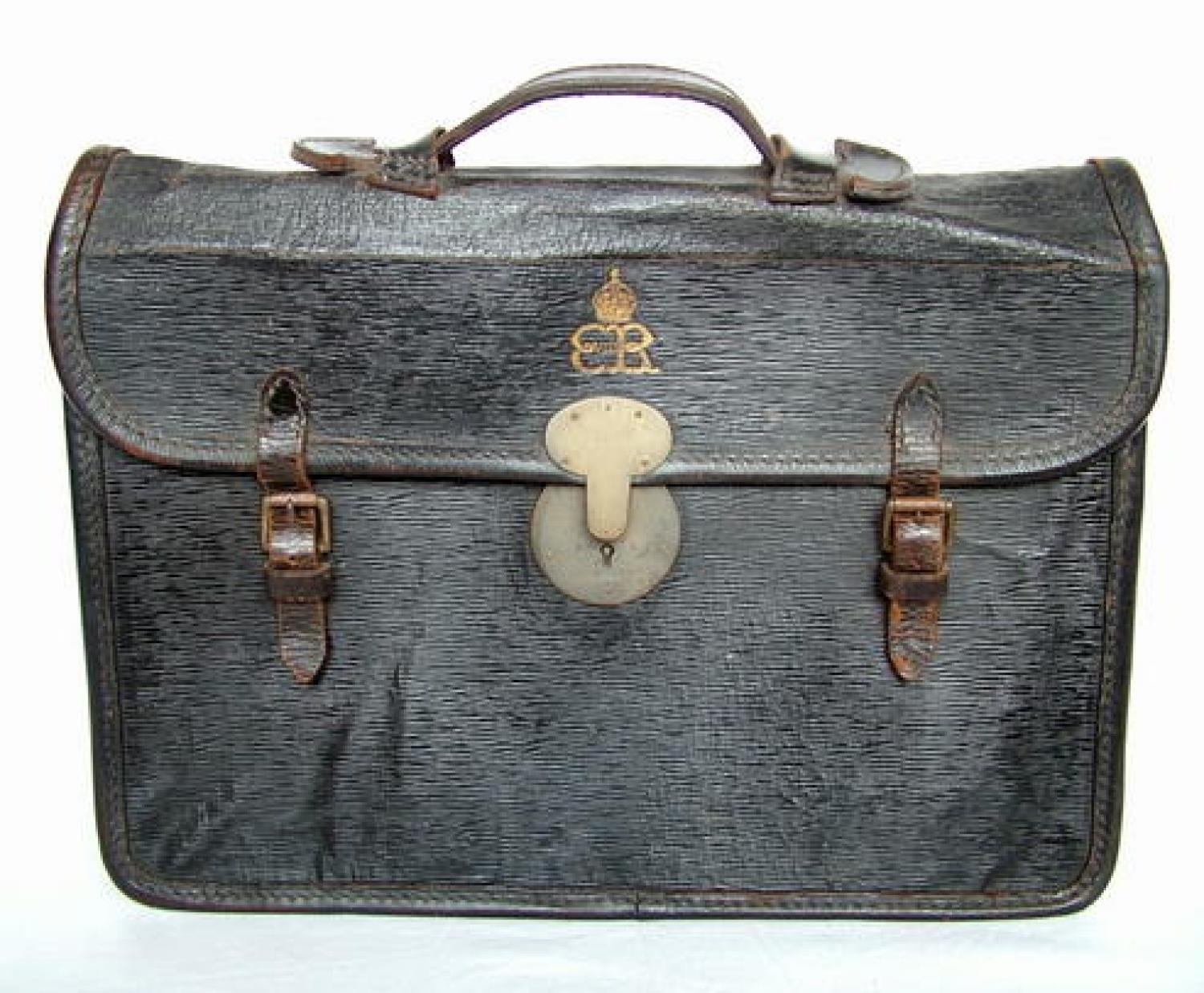 King Edward VIII Government Briefcase