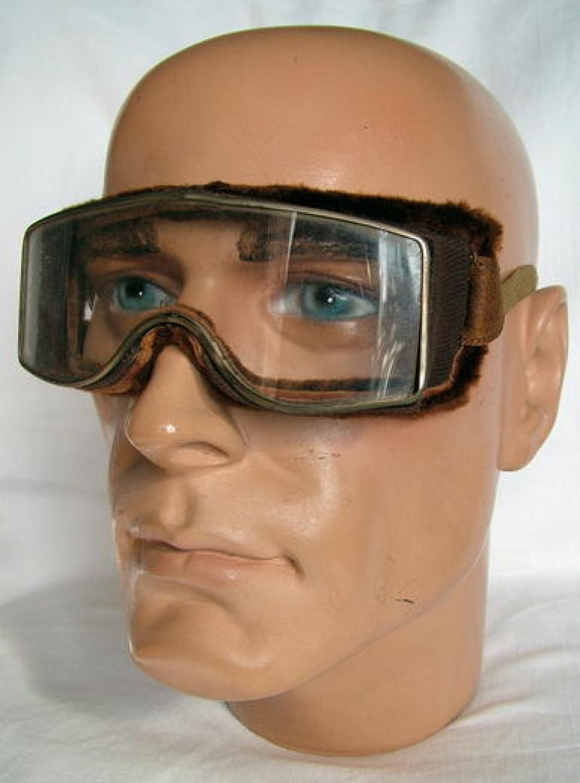 Interwar Bausch & Lomb/Centex Goggles, Boxed