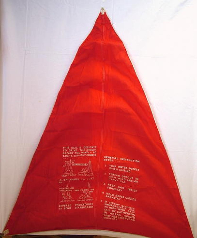 R.A.F. K-type Dinghy Sail
