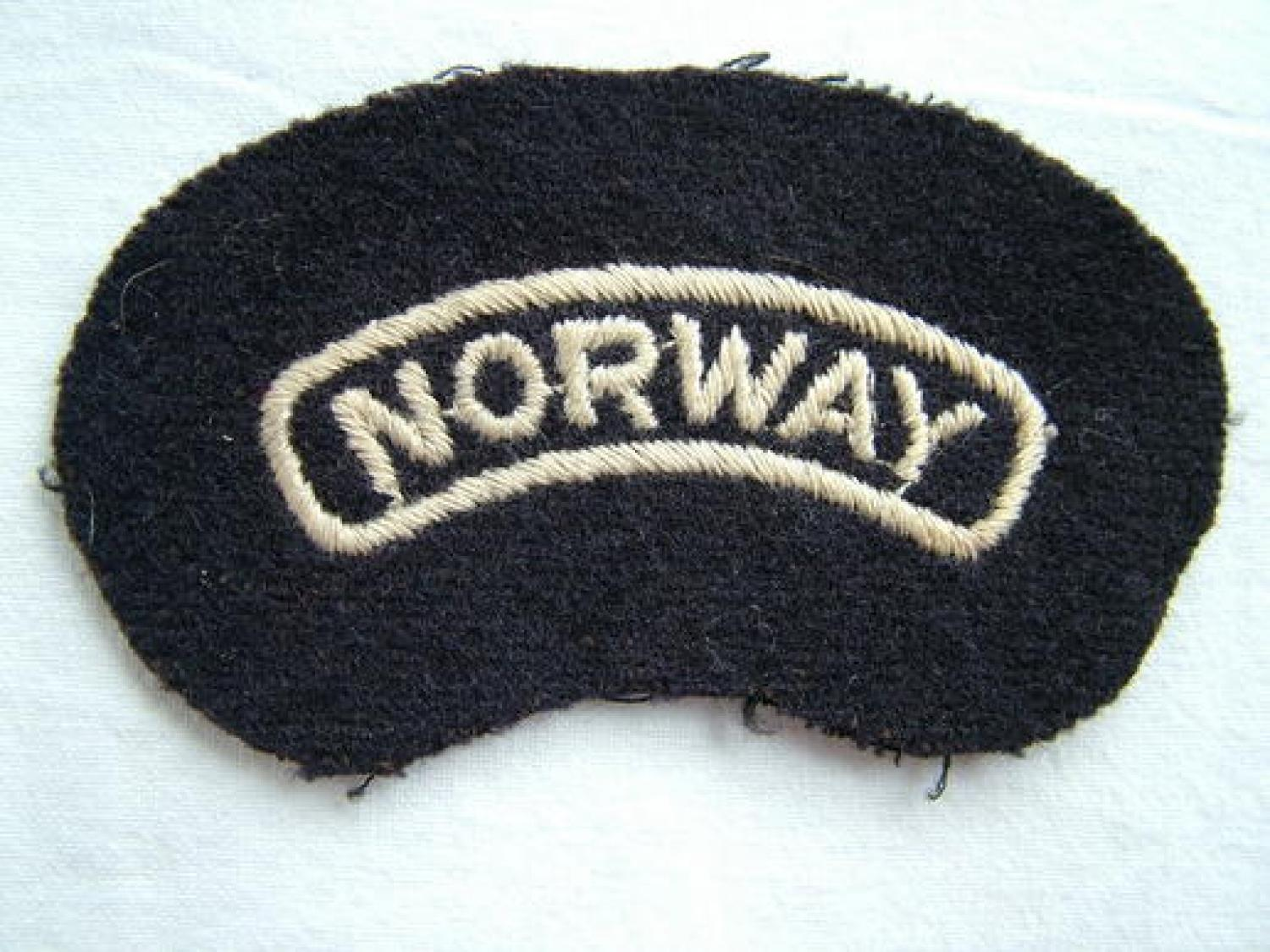 R.A.F. 'Norway' Nationality' Title