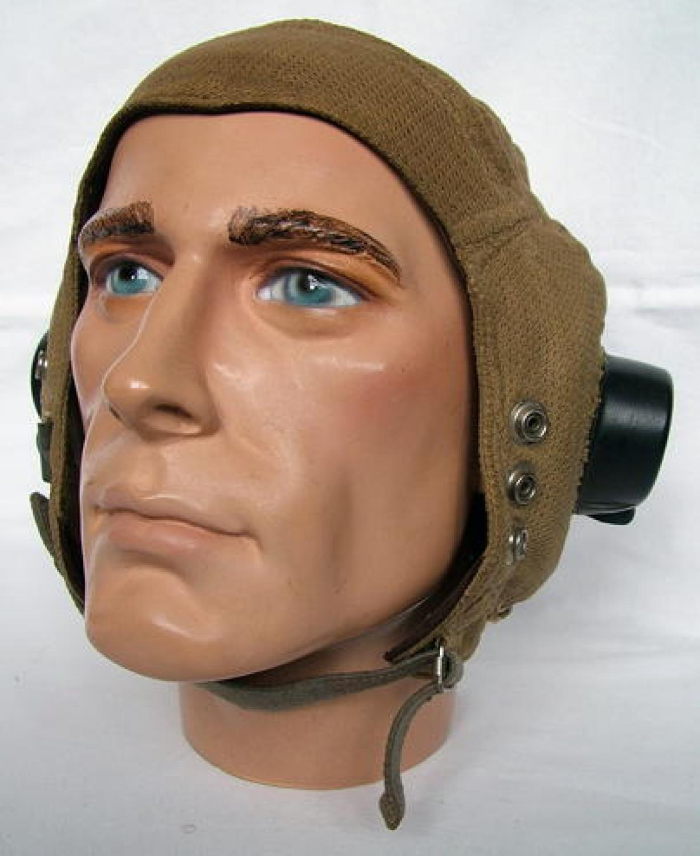R.A.F. E-Type Flying Helmet - Late Pattern