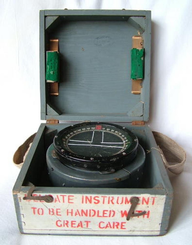 R.A.F. Type P-8 Aircraft Compass