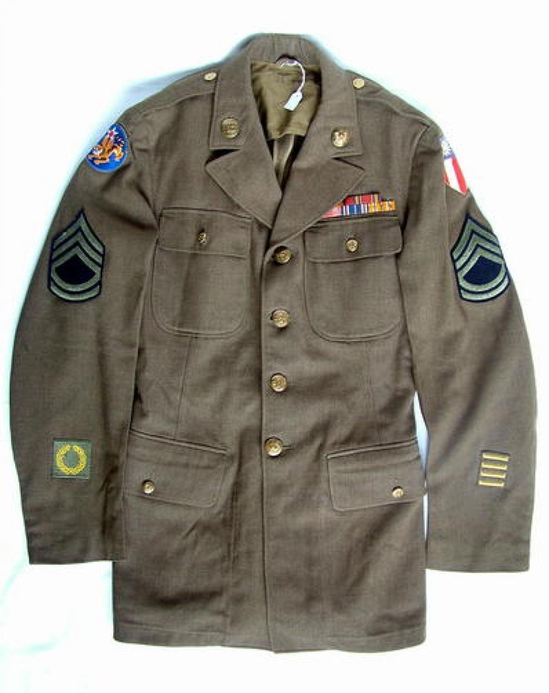 U.S.A.A.F. C.B.I. Enlisted Mans Tunic