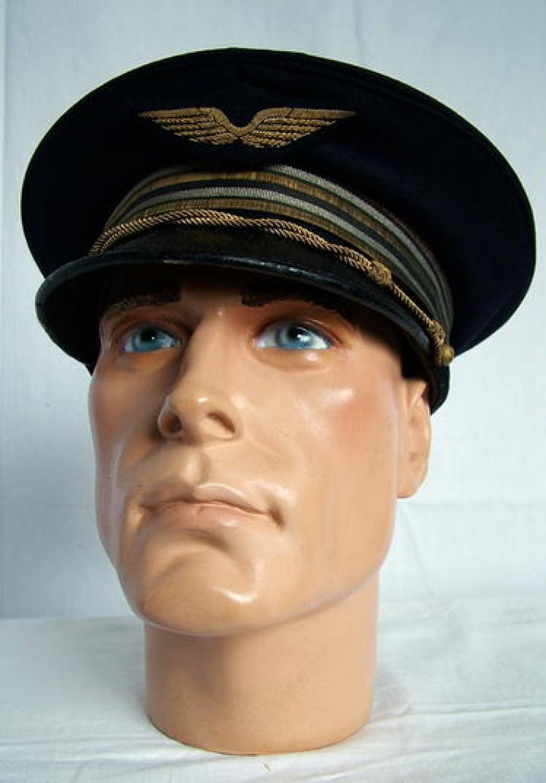 French L'Armee de L'Air Pilot's Dress Cap