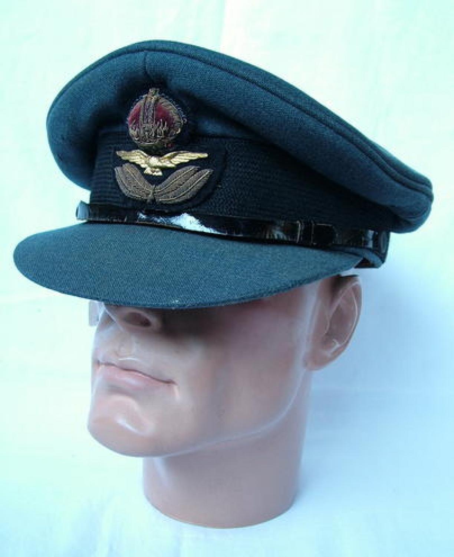 R.A.F. Officers' Service Dress Cap