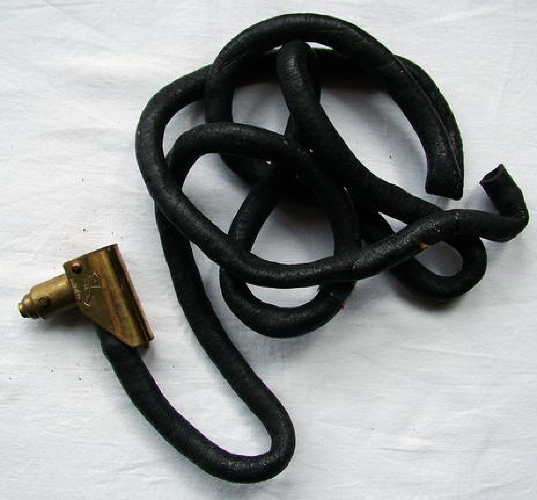 RAF D-type Oxygen Mask Hose & Connector