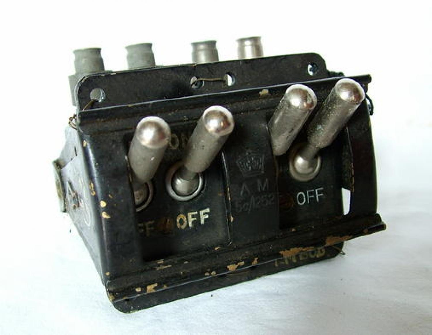 R.A.F. Lancaster Magneto Switches / Gate