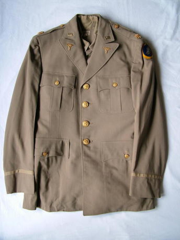 USAAF 3rd AAF Officer's Summer Tunic & Shirt