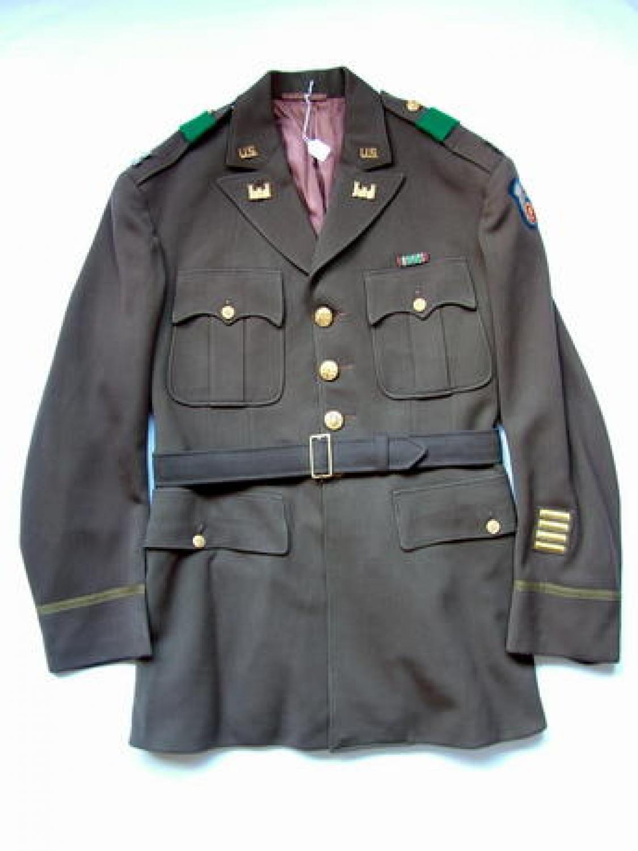 USAAF 9th AAF Chocolate Tunic/Garrison Cap