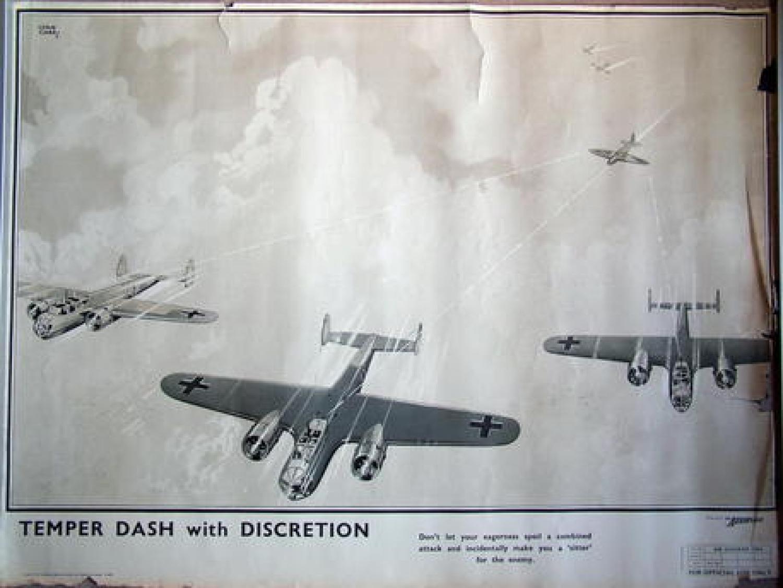Air Ministry Air Diagram Poster - 1940