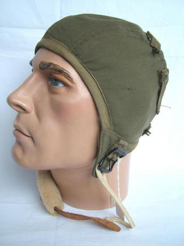 U.S.A.A.F. A-9 Flying Helmet
