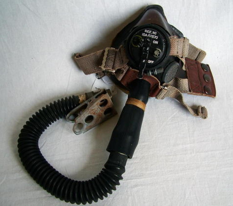 R.A.F. E*-type Oxygen Mask/Tube
