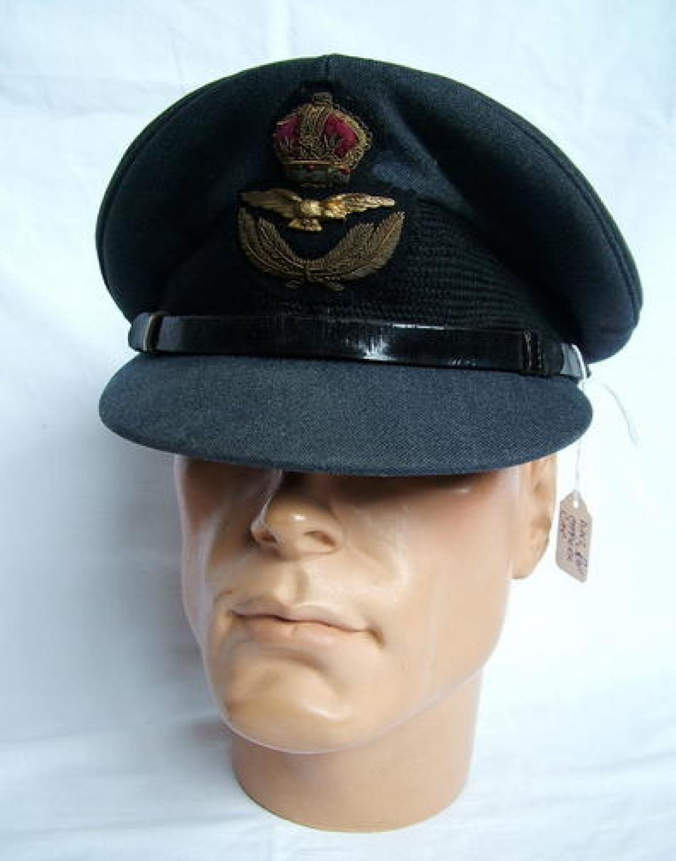 R.A.F. Officer's Service Dress Cap