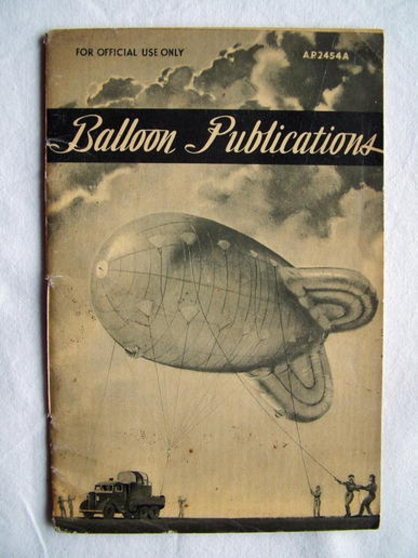 R.A.F. Balloon Publications
