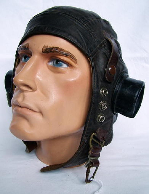 R.A.F. C-type Flying Helmet, Early Patt.
