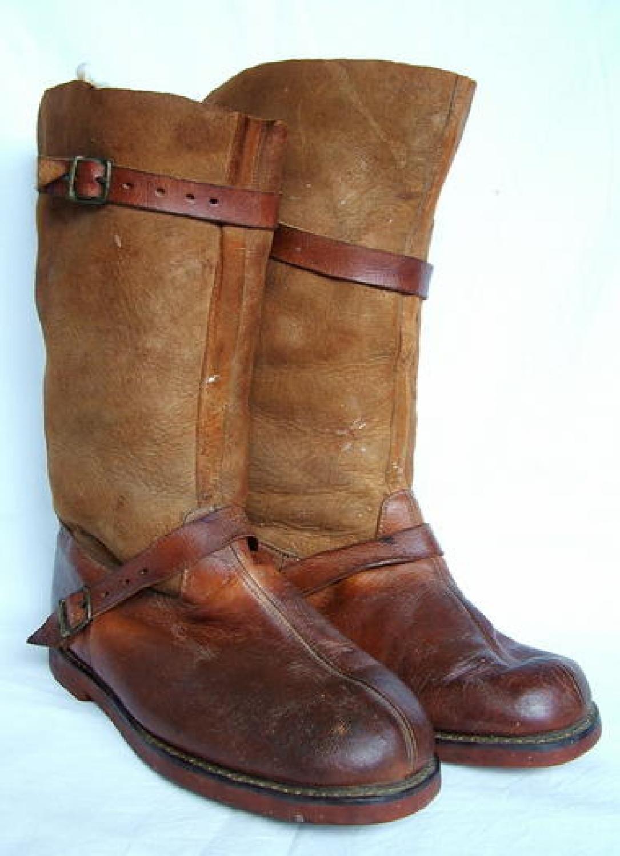 R.F.C. 'Fug' Flying Boots