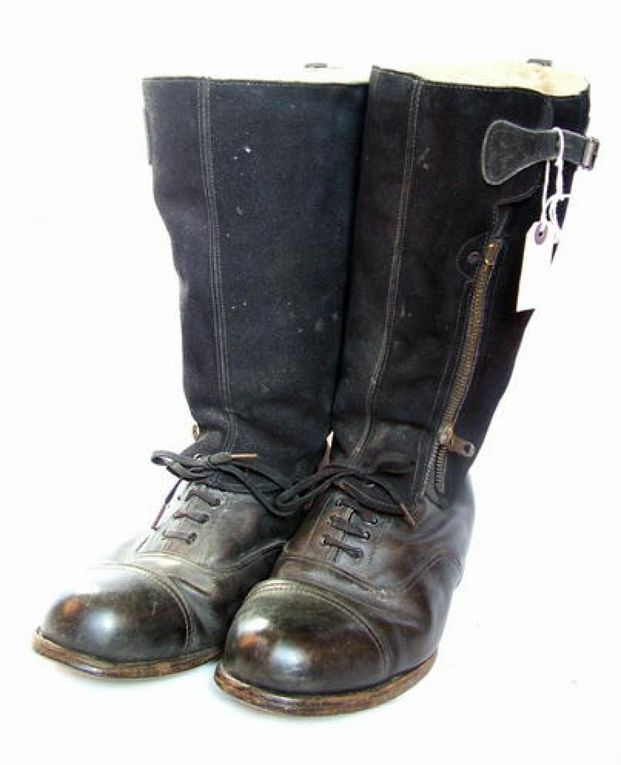 R.A.F. 1943 Pattern Flying Boots