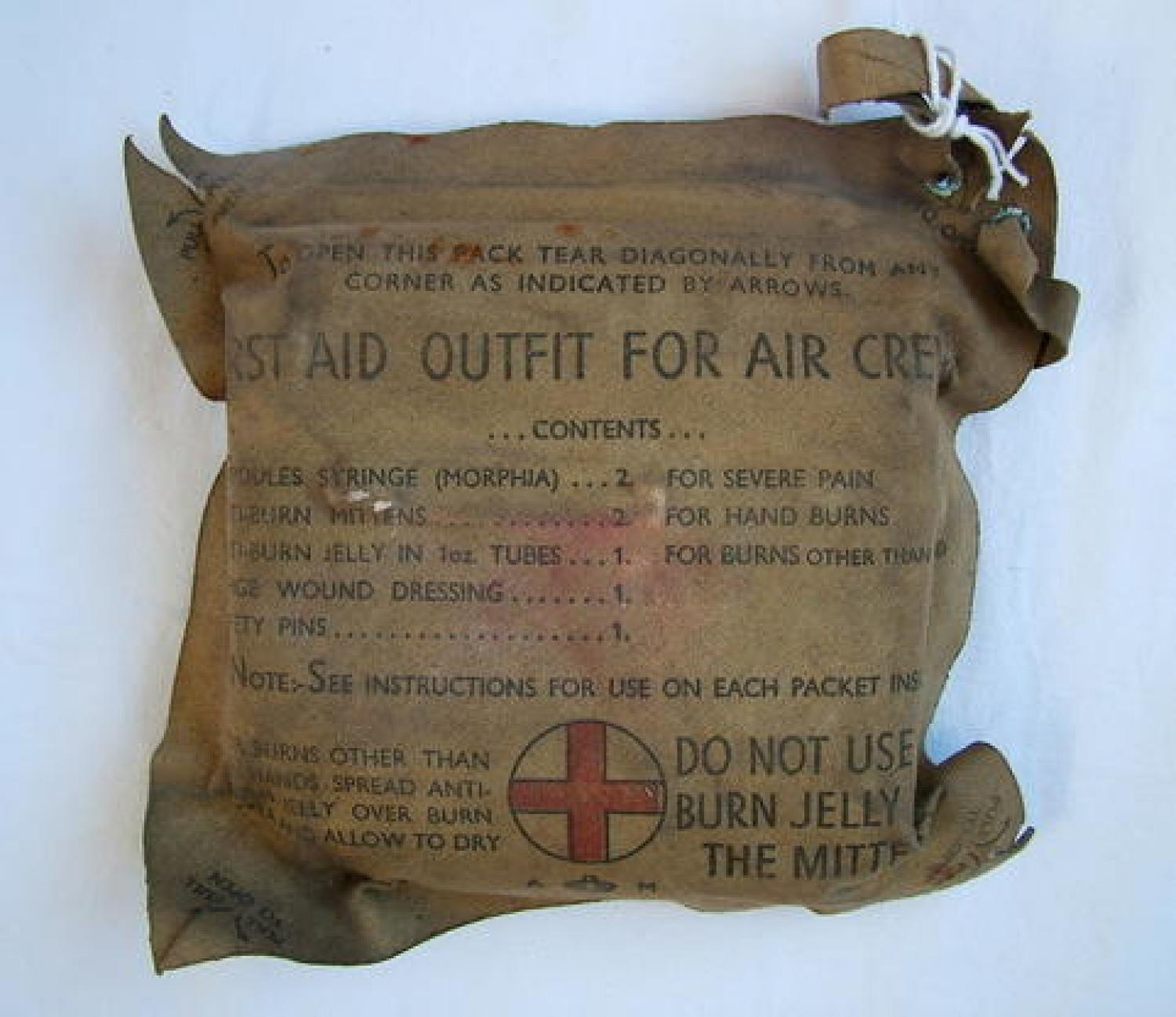 RAF First Aid Outfit For Aircrews, MK.II