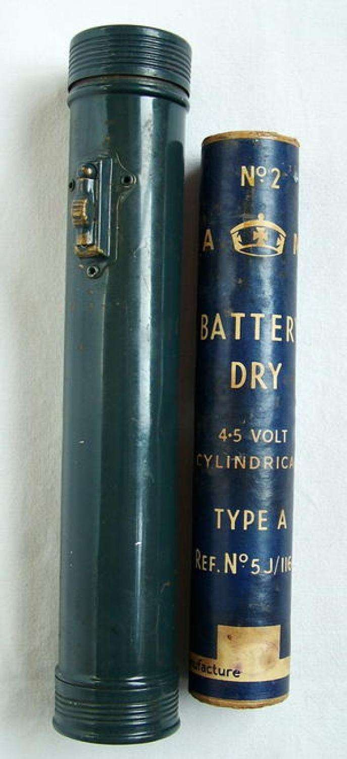 R.A.F. Torch With A.M. Battery