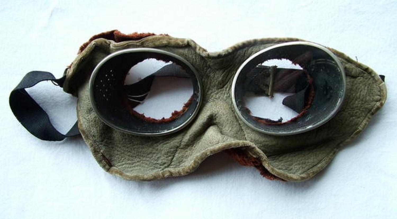 Early Commercial Flying Goggles