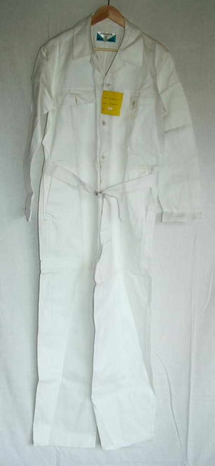 R.A.F. 'Style' White Prestige Flying Suit