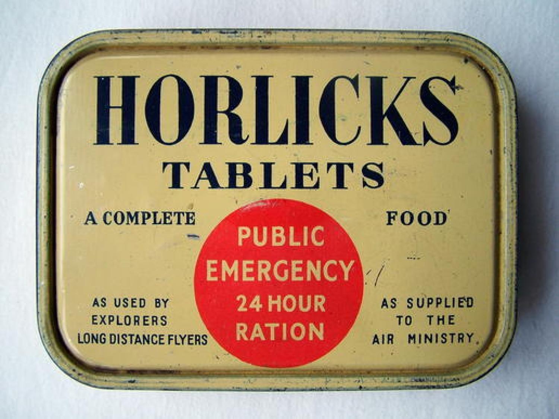 Horlicks Ration Tablets Tin