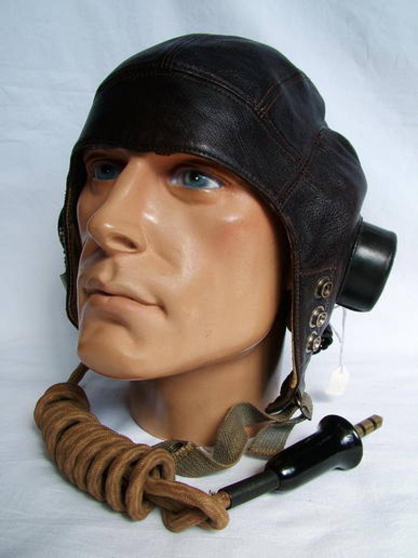 R.A.F. C-type Flying Helmet   (Late Patt.)