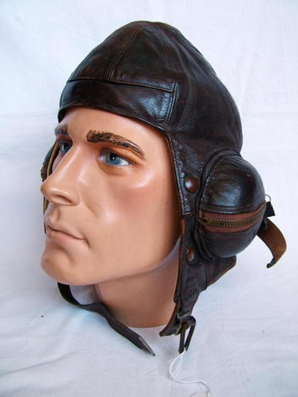 R.A.F. B-type Helmet (A.T.A. Named)