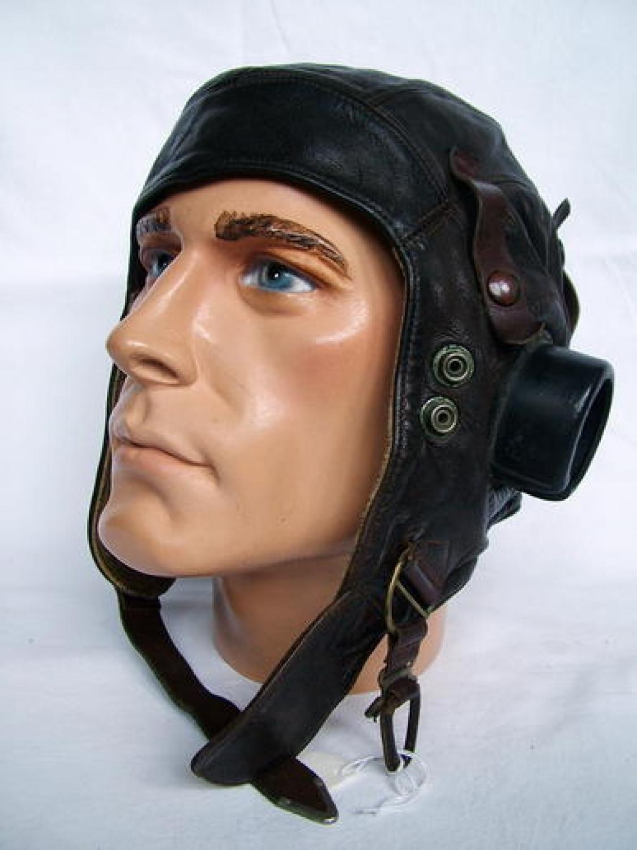 RAF C-type Flying Helmet, Early Patt.