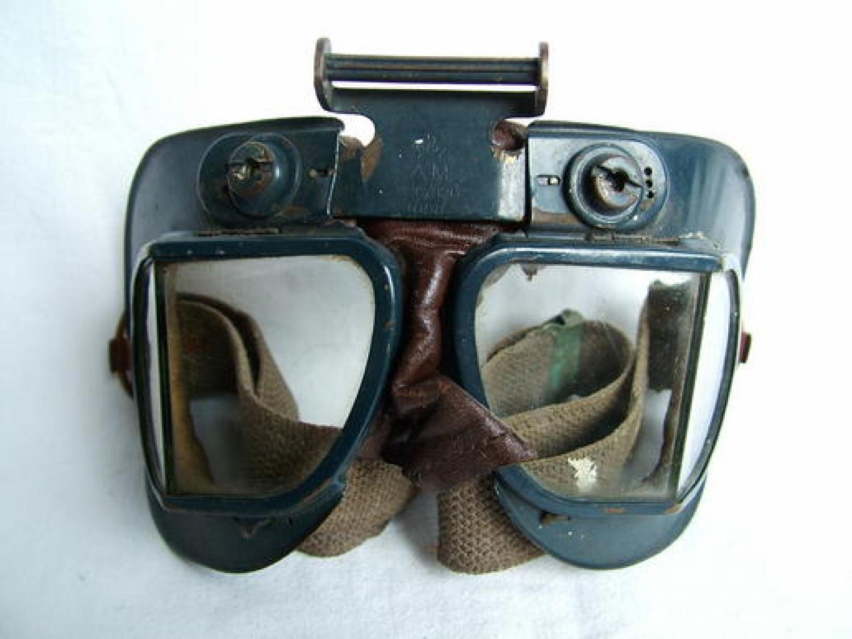 R.A.F. MK.VII Flying Goggles