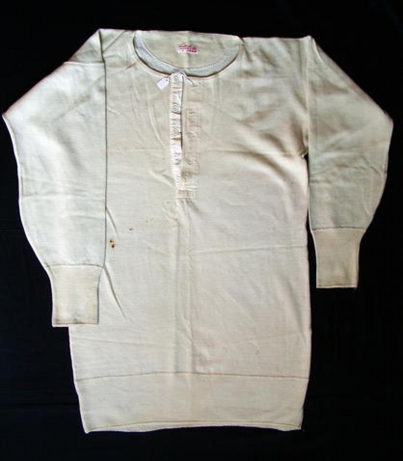 Air Ministry Long Sleeved Vest, 1940