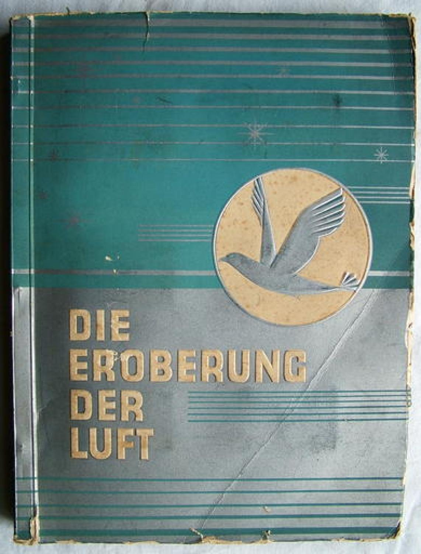 German Cigarette Card Album