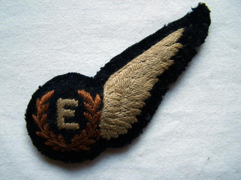 R.A.F. Flight Engineer Brevet - Padded