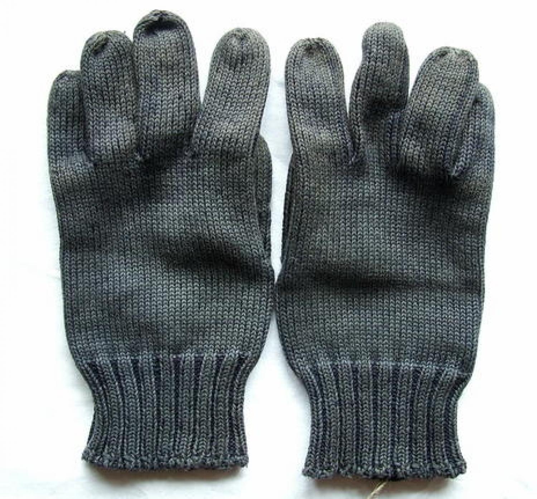 R.A.F. Woollen Gloves