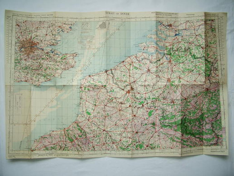 RAF Flight Map - Strait Of Dover