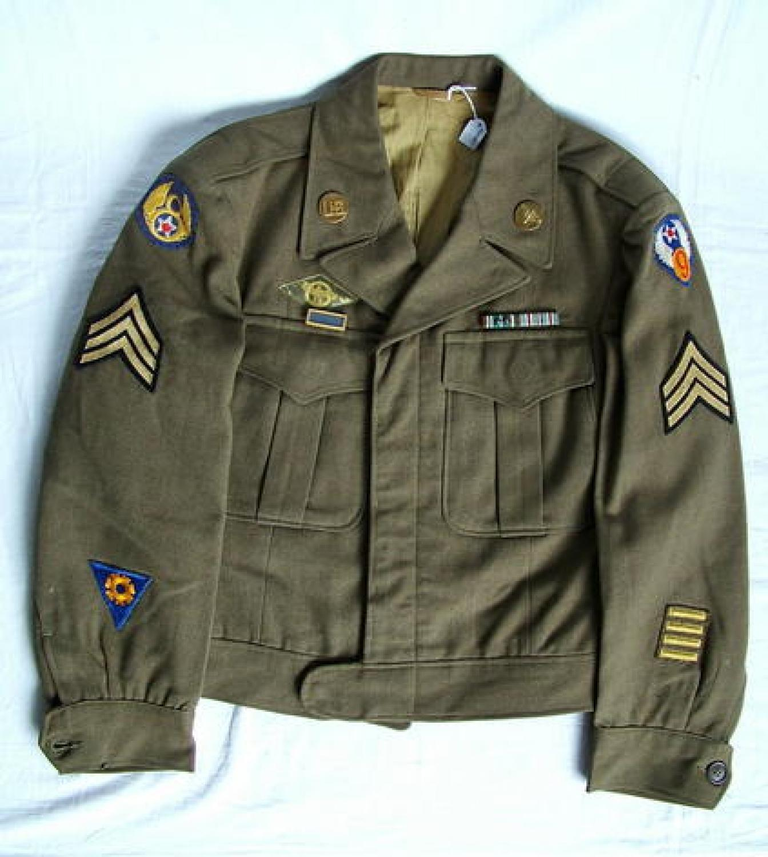 USAAF 8th/9th AAF Enlisted Mans' 'Ike' Jacket