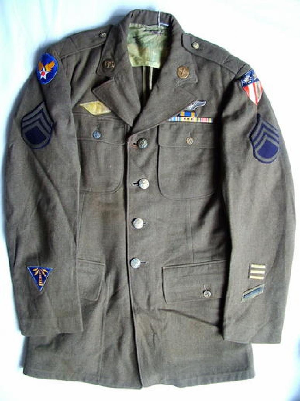 USAAF Enlisted Man's CBI Aircrew Tunic